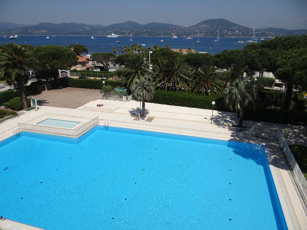 A vendre appartement 52 m saint tropez guillec immobilier for Residence gourette avec piscine
